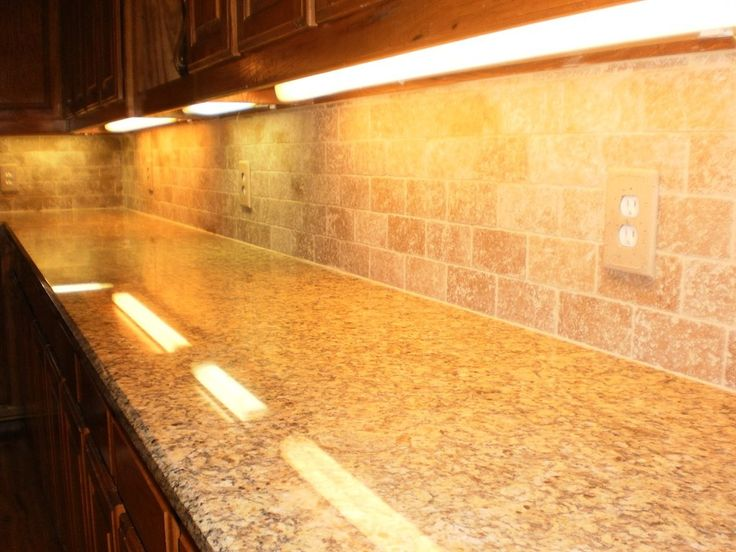 Backsplash With Santa Cecilia Granite Google Search