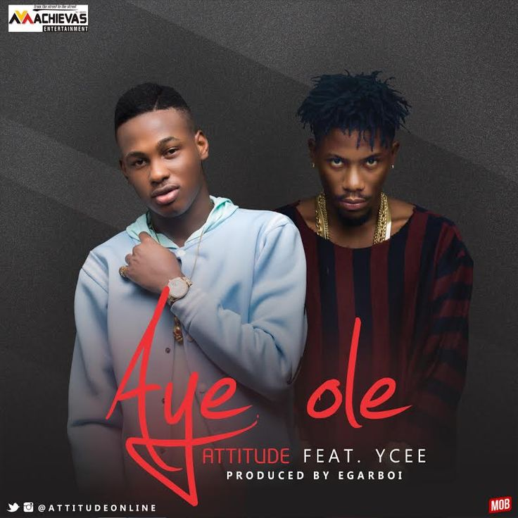 "Aye Ole – Attitude —– Afro Pop act, Attitude teams up with rapper, Ycee on his new single, ""Aye Ole"" (meaning life isn't hard). Attitude, who's real name is Destiny Eghomwanre and recently turned 21, is currently signed to Achievas Entertainment. ""Aye Ole"" is his 3rd... #naijamusic #naija #naijafm"