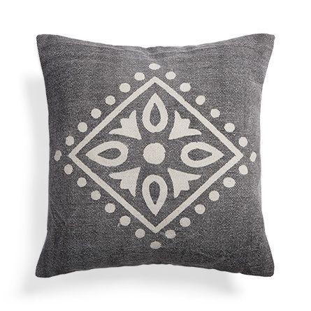 Boho Medallion Print Pillow