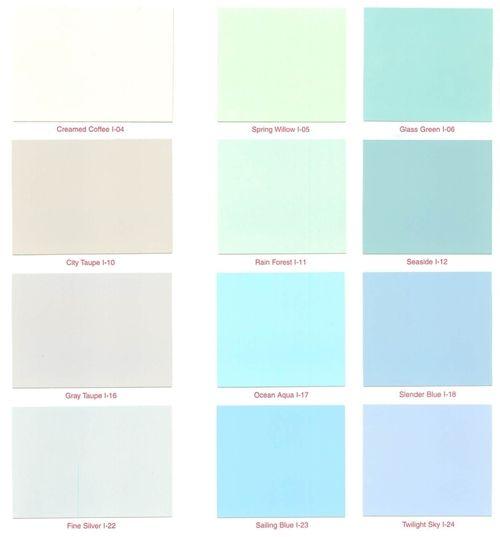 14 best vintage paint colors images on pinterest vintage for Pastel teal paint