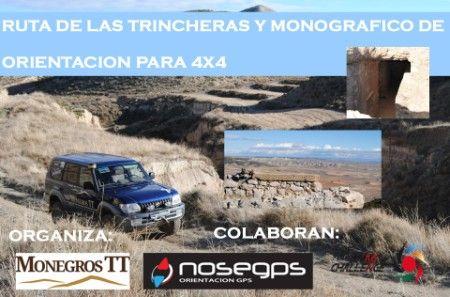 Ruta las Tincheras, organiza MonegrosTT colabora Driving Challenge, participa nosegps.