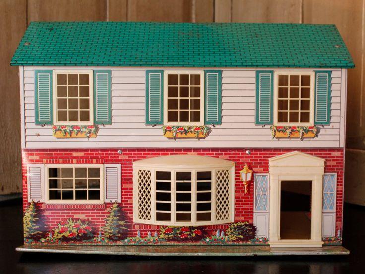 Vintage Metal Dollhouse 104