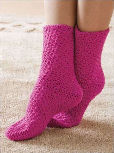 basic crochet socks