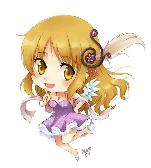 Anime Girl Chibi: To Be, Chibi And