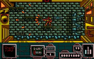 Atari ST games: Zone Warrior