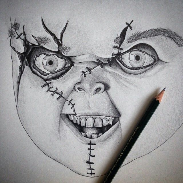 Pin By Maria On Drawing Art With Images Scary Drawings Creepy