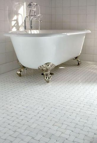 Bathroom Basketweave Tile Flooring   White Bathroom   Basketweave Tile. 10 Best images about BASKETWEAVE TILE PATTERN on Pinterest