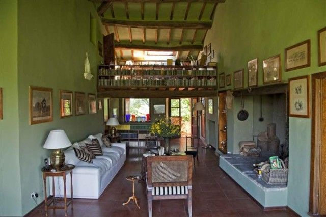 Particular #livingroom in #Tuscany