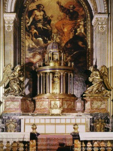 Altare del Santissimo Sacramento 1674, Basilica di S.Pietro