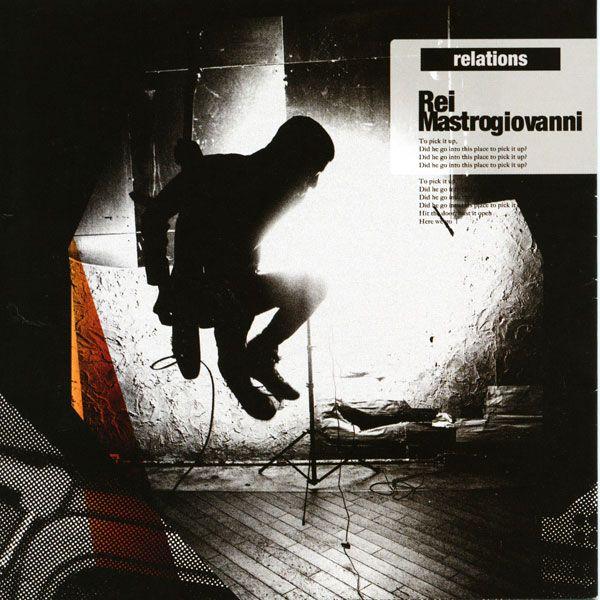 """Rei Mastrogiovanni 2nd Alubm """"relations"""" Jacket (2007 Photo Yoshika Horita) 数あるジャケ写の中でもかなり気に入っている一枚。"""