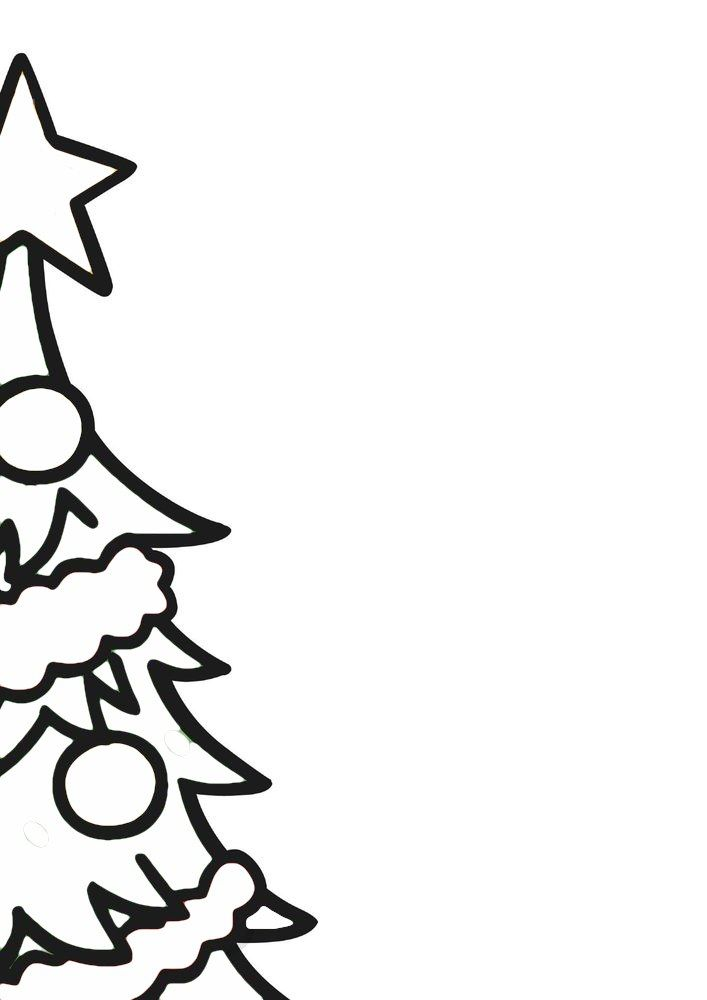 Boże Narodzenie Choinka Kolorowanka Zima Pinterest