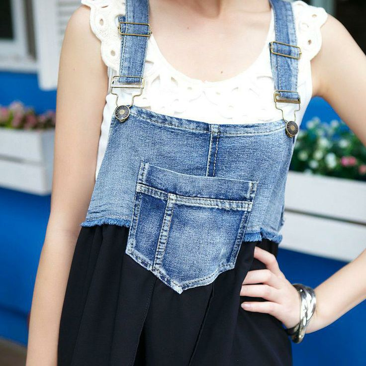Overall do overs/make them in to a new style Maxi Dress