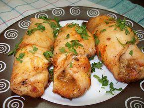 Sajttal és gombával töltött csirkemell! Nem a megszokott recept, omlós puha husika, isteni töltelékkel!