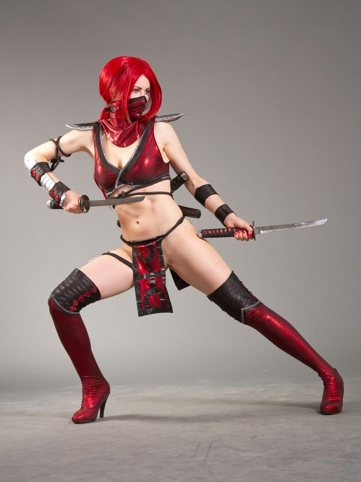 Cosplay Scarlet  Mortal Combat 9 by AsherWarr.deviantart.com on @deviantART