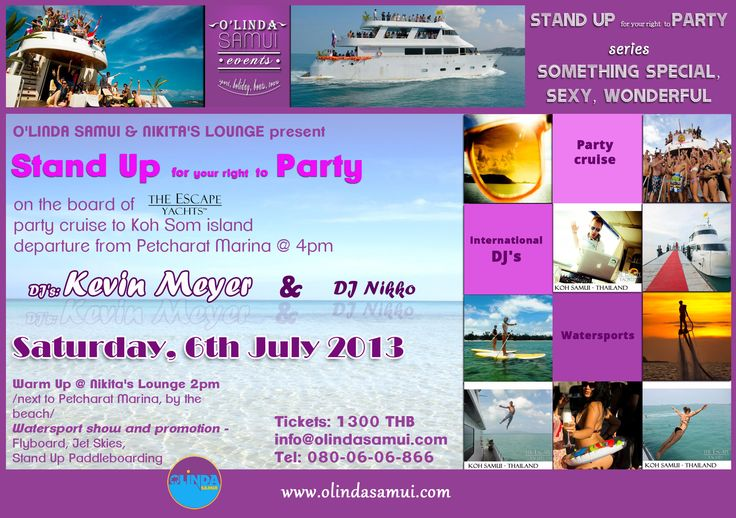 Stand Up party