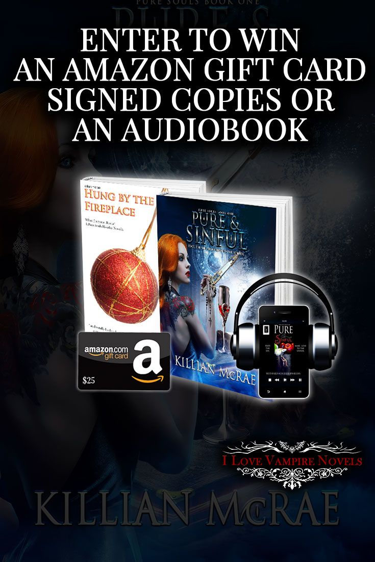 Win a $25 Amazon Gift Card, Signed Copies or Audiobooks from Bestselling Author Killian McRae