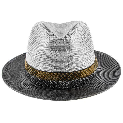b20bd3734655a Andover - Stetson Milan Straw Fedora Hat - TSANDV in 2019