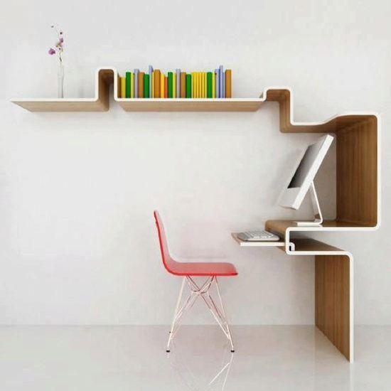 Já pensou em ter um escritório minimalista?