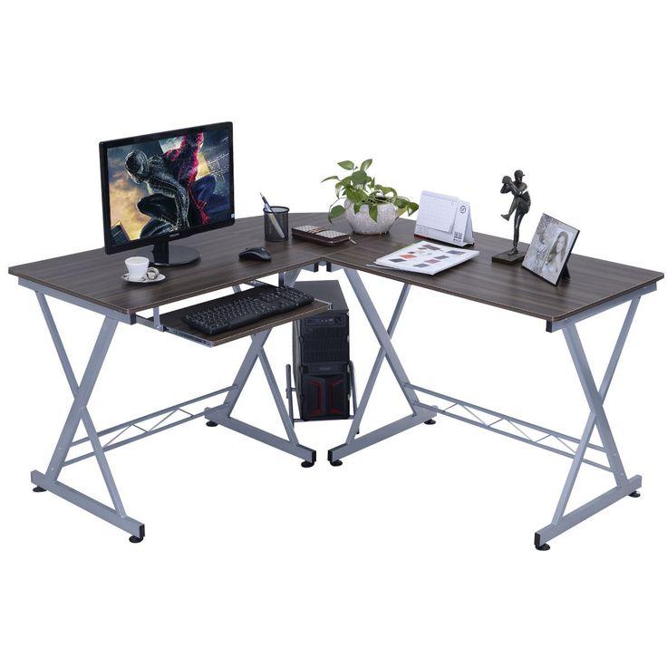 laptop table computer desks and home office on pinterest besi office computer desk