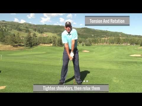 (56) Malaska Golf // Video Swing Analysis // Full Swing Drills // Tension and Rotation Tips - YouTube