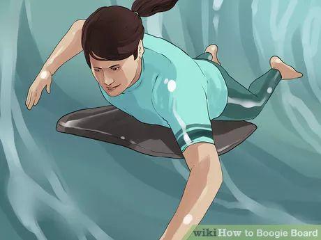 Ride a Boogie Board
