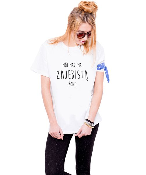 Koszulki dla Par - Mąż - Żona 2 w Allbag-Allprints na DaWanda.com