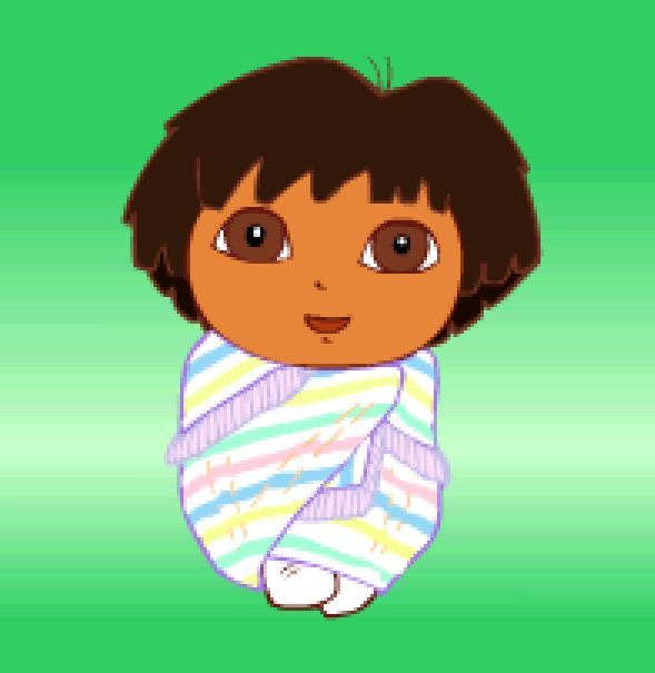 Dora As A Baby Baby Dora By Puccadominyo Anime Baby