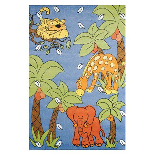 Night Flash Jungle Rug