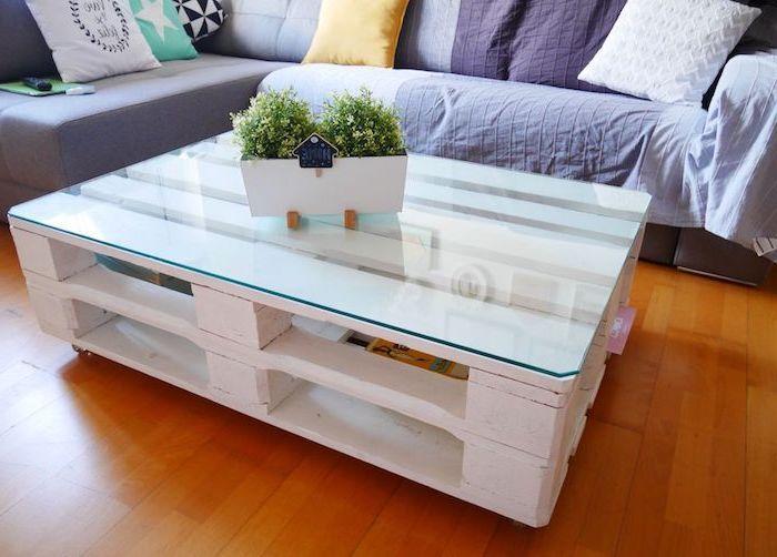1001 Tutos Et Idees Top Pour Fabriquer Une Table Basse Fabriquer Une Table Basse Table Basse Table Basse Palette