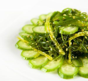 Seaweed Salad Recipe  just had this today at Sobey`s and it was pretty darn good!