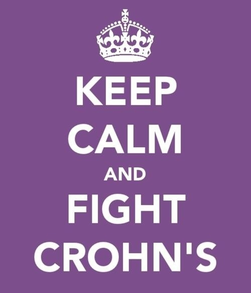 Yes, fight for Isabella and all others diagnosed with this disease!!  Crohn's awareness