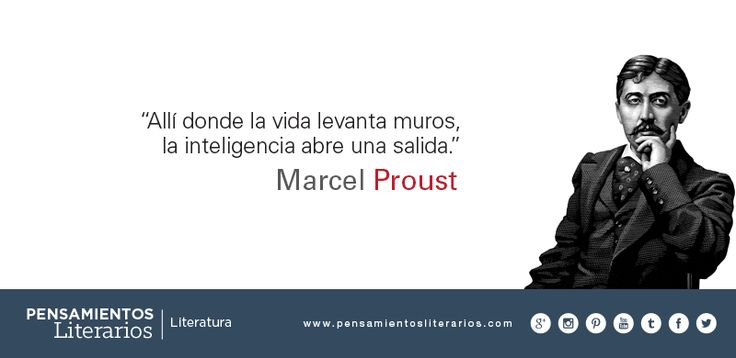 Marcel Proust. Sobre la inteligencia.