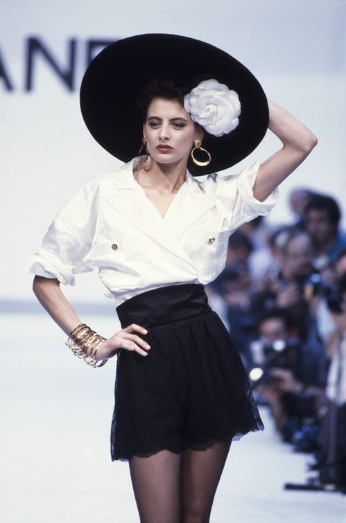 Chanel automne-hiver 1987-1988