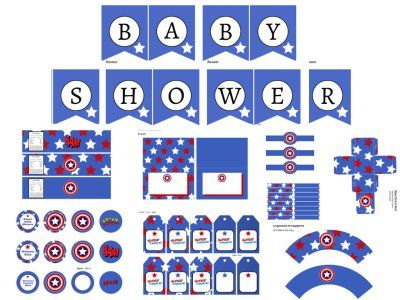 Http://www.magicalprintable.com/superhero Baby Shower/
