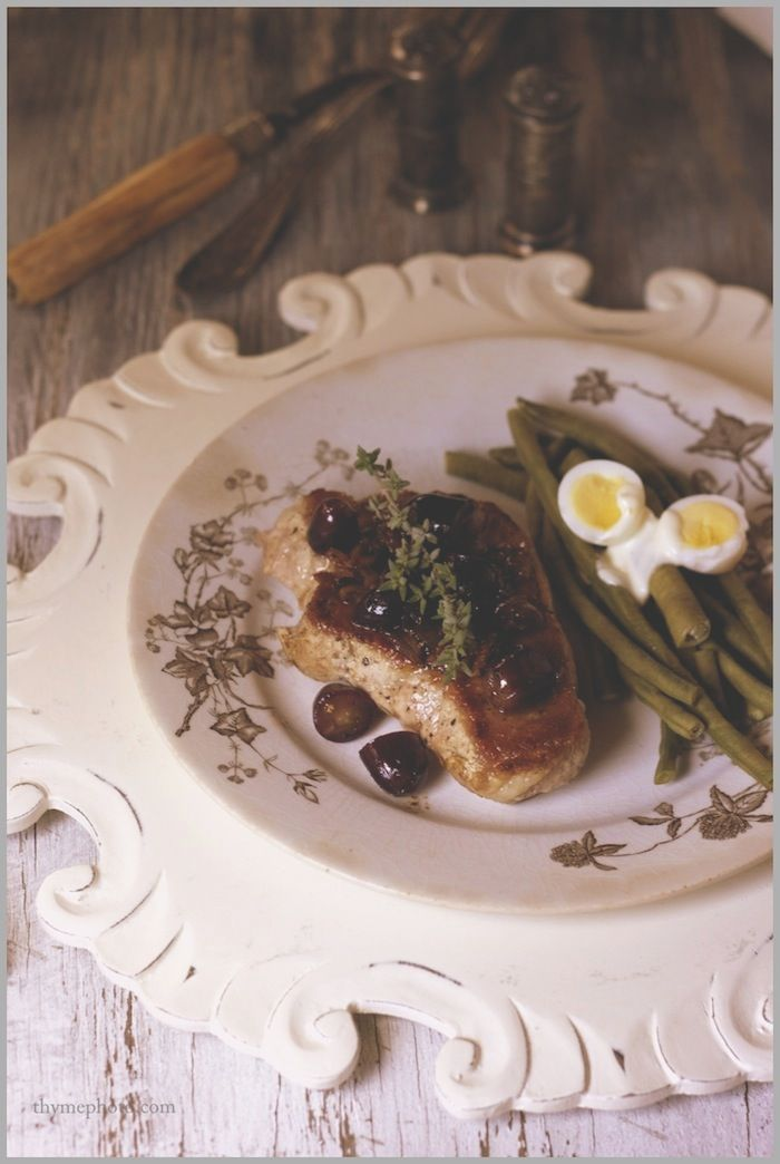 Pork Filets in an Autumn Royal Grape Shallot Sauce | Recipes: Paleo ...