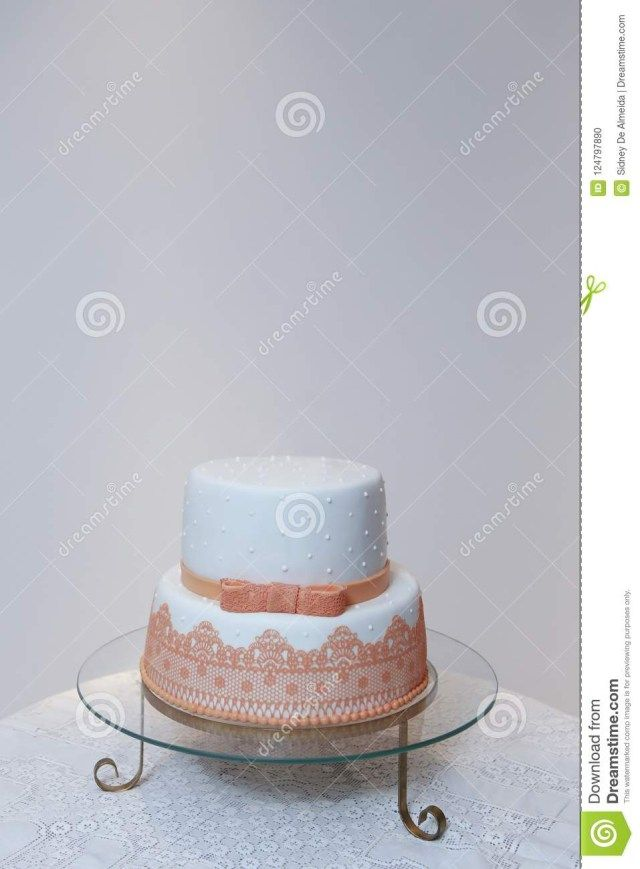 23 Brilliant Picture Of Elegant Birthday Cake With Orange Color Detail Stock Photo Image BirthdayCakeToppers
