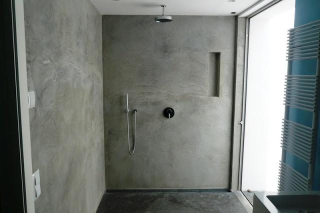 Ba os de concreto pulido decoideal ba os pinterest - Banos cemento pulido ...