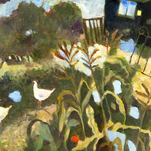 bofransson: Tessa Newcomb (British, born 1955) 'Allotment No. 3'