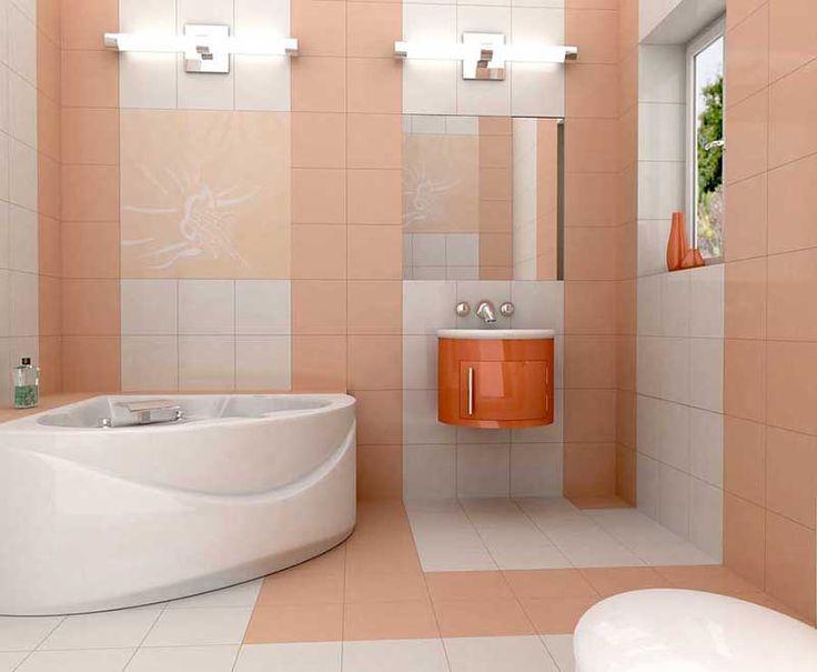Die besten 25+ Orangene badezimmer designs Ideen auf Pinterest - das moderne badezimmer typische dinge