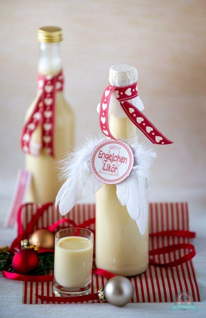 Weihnachtliche Liköre - Engelchen trifft auf Spekulatius   Rezept in ...