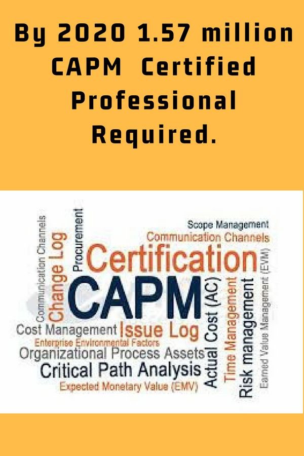 Certified Associate In Project Management Capm Certification Is A