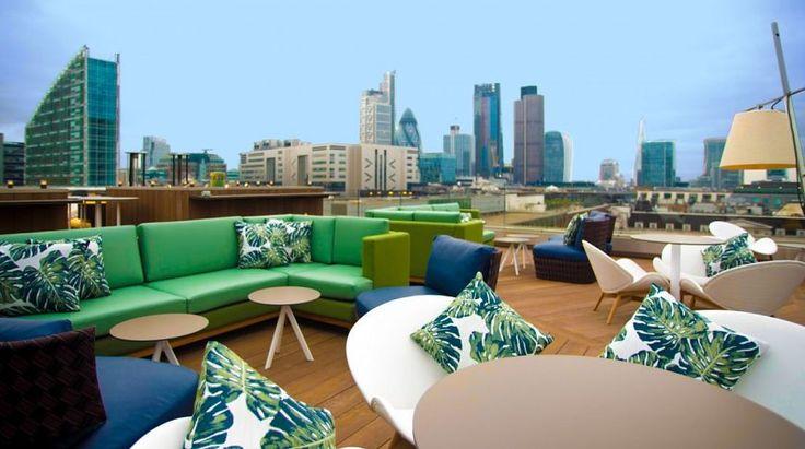 Вечеринка в облаках: лучшие бары на крышах Лондона. Статьи. Онлайн-гид по Лондону.