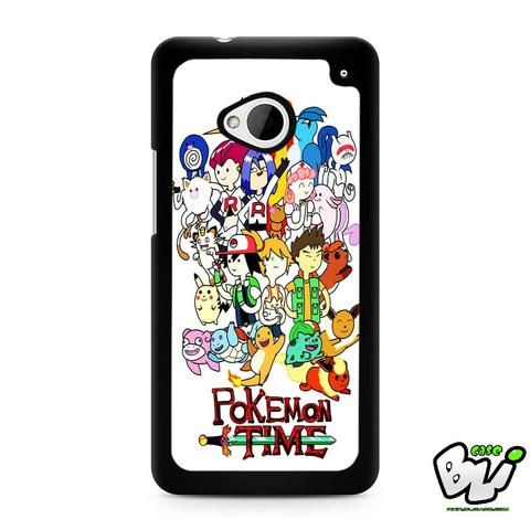 Adventure Pokemon Time HTC G21,HTC ONE X,HTC ONE S,HTC M7,M8,M8 Mini,M9,M9 Plus,HTC Desire Case