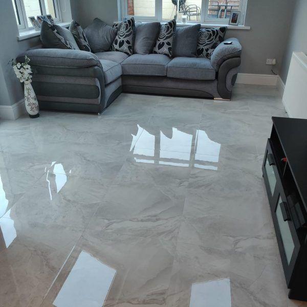Soft Grey Light 60 X 60 Right Price Tiles House Flooring House Tiles Apartment Renovation