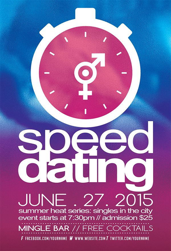 SPEED DATING Flyer Template DOWNLOAD PSD http://graphicriver.net/item/speed-dating-love-flyer-template/10117942?WT.ac=portfolio&WT.z_author=WG-VISUALARTS
