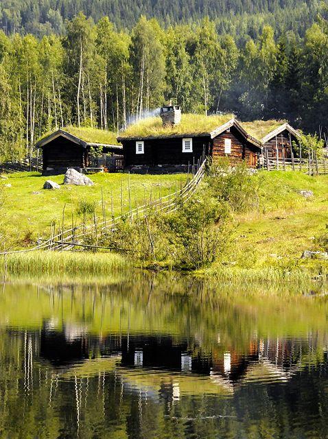 Lillehammer ~ Norway (Cabin by strømstad)