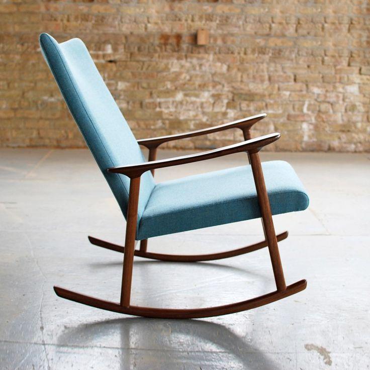 modern rocking chair for baby nursery ideas