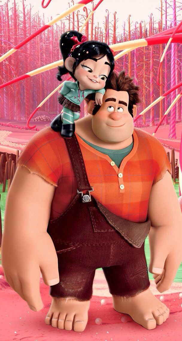 Wreck it Ralph so cool a boy at school call me Penelope and I call him Ralph funny