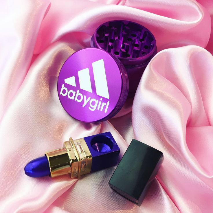 Purple weed grinder and lipstick pipe from ShopStayWild.com ✨ #weed #cannabis #marijuana #bong #pipe #bubbler #420 #ganja #710 #cbd #dabs #grinder