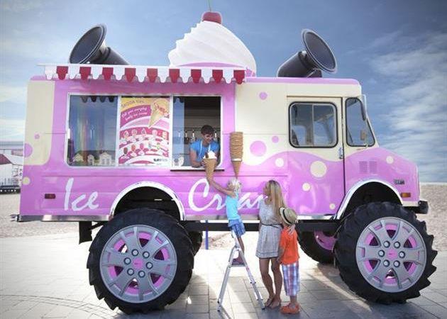Ice Cream Monster Truck by Skoda